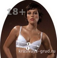 Размер груди, определение размера.